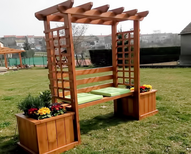 Roundwood Furniture -  Furniture Pergolas
